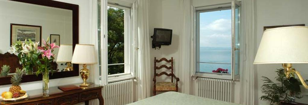 Hotel Riviera & Maximilians - 的里雅斯特 - 臥室