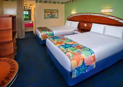 Disney's All-Star Sports Resort - 博偉湖 - 臥室