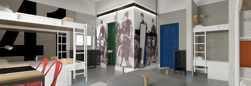 The Post Hostel - 耶路撒冷 - 臥室