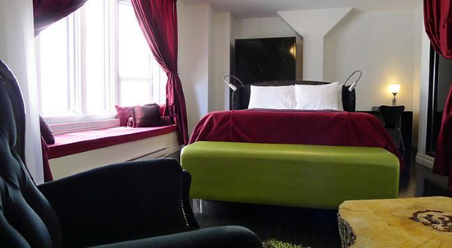 Hotel Chez Swann - Montreal - 臥室