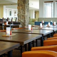 Hilton Garden Inn Roanoke Woman Eating Breakfast