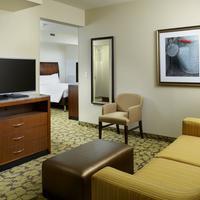 Hilton Garden Inn Roanoke Queen Suite Living Room