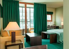 柏林快船城市家庭式公寓酒店 - 柏林 - 臥室