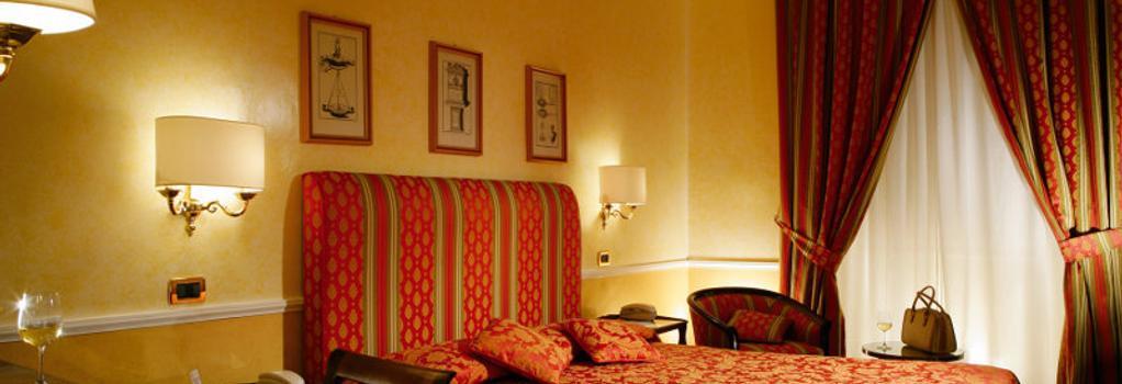Hotel Massimo D Azeglio - 羅馬 - 臥室