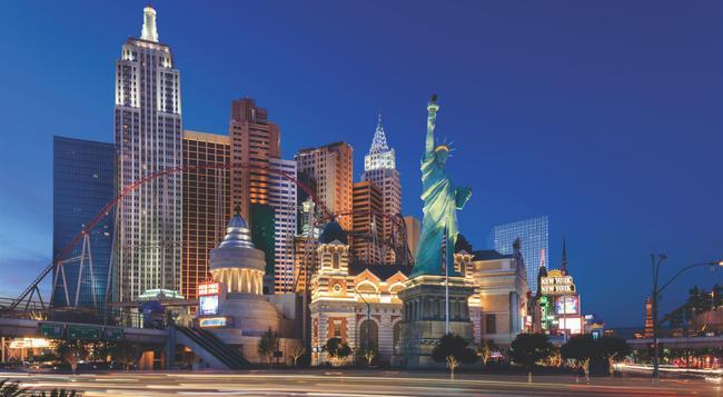 New York-New York Hotel & Casino - 拉斯維加斯 - 建築