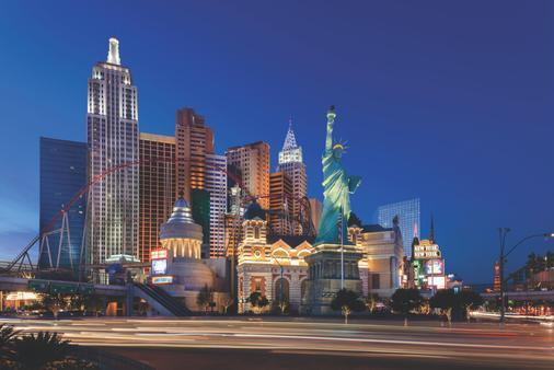 紐約紐約賭場飯店 - 拉斯維加斯 - 建築