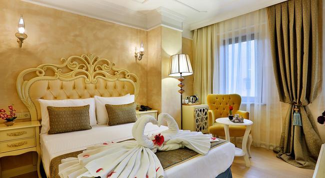 Edibe Sultan Hotel - 伊斯坦堡 - 臥室