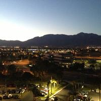 Ontario Airport Hotel and Conference Center Evening View