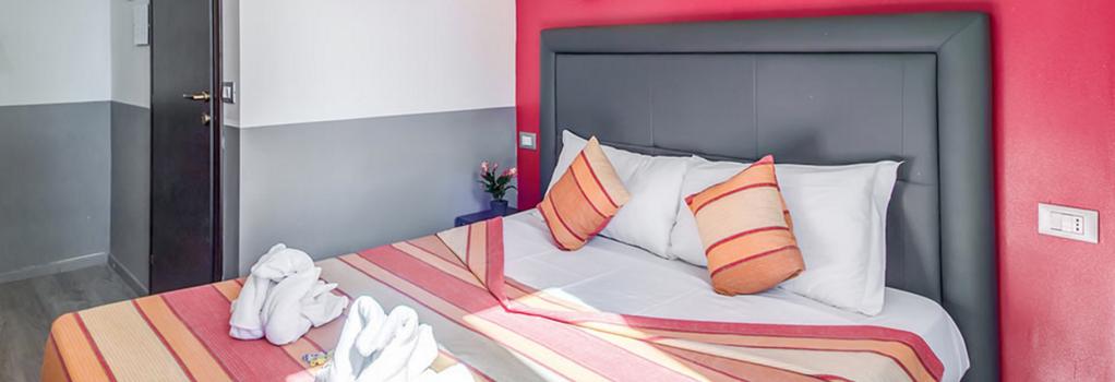 MF Hotel - 羅馬 - 臥室