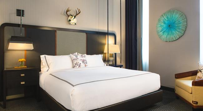 The Kimpton Cardinal Hotel - Winston-Salem - 臥室