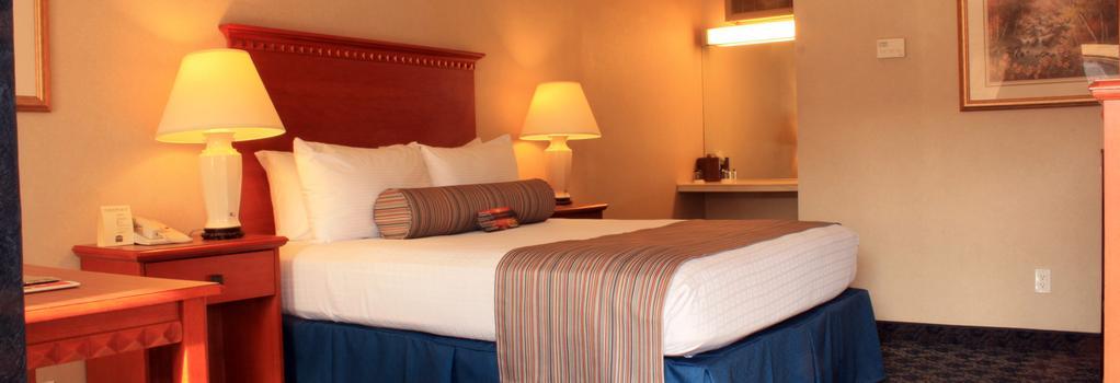 Sands Inn & Suites - 聖路易斯-奧比斯保 - 臥室