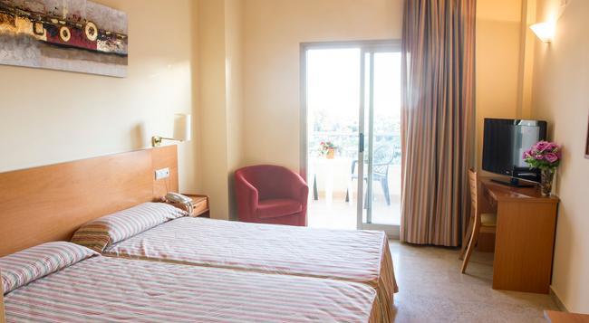 Hotel Toboso Almunecar - Almuñecar - 臥室
