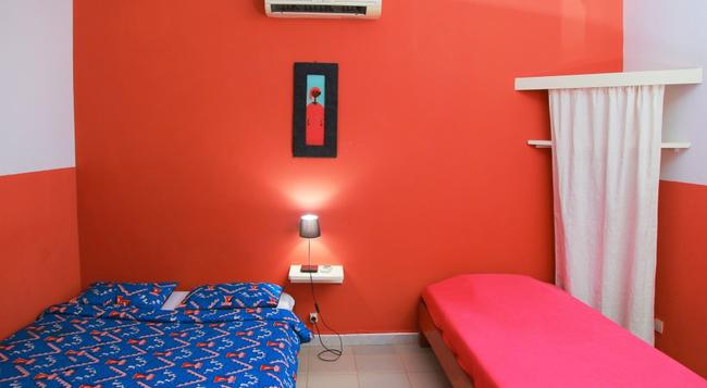 Hotel du Phare Les Mamelles - 達喀爾 - 臥室