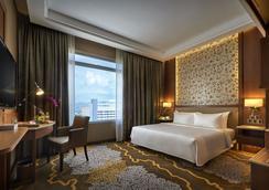 槟城温布利圣吉尔斯酒店 - 喬治市 - 臥室