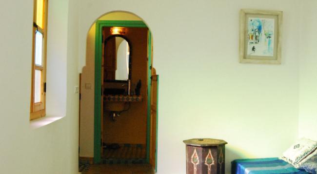 Riad Dar Aida - 馬拉喀什 - 臥室