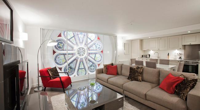 Apple Apartments Aberdeen - 阿伯丁 - 客廳