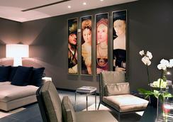 安特衛普溫德姆特萊普酒店 - 安特衛普 - 休閒室