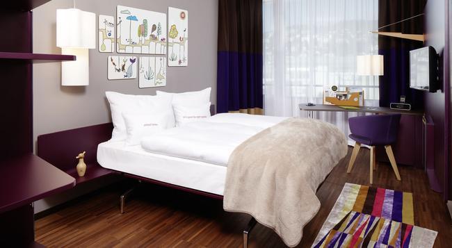 25hours Hotel Zürich West - 蘇黎世 - 臥室