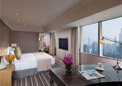上海新錦江大酒店 - 上海 - 臥室