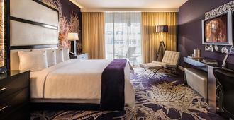 佐索酒店 - Palm Springs - 臥室