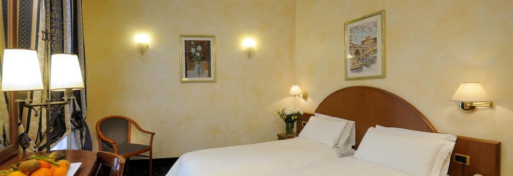 Hotel Quattro Fontane - 羅馬 - 臥室