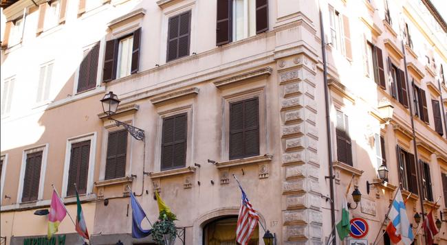 Hotel Sistina - 羅馬 - 建築
