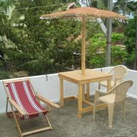 Nathan's Holiday Home rooftop-chairs-tables-hammock-easychair-bbq
