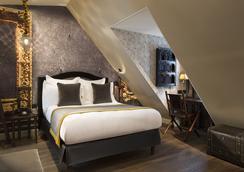 達芬奇酒店及Spa - 巴黎 - 臥室