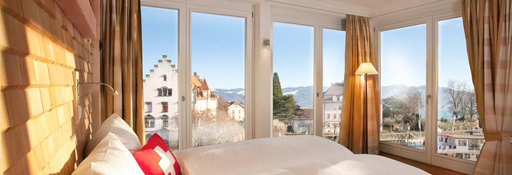 Hotel Helvetia - Lindau - 臥室