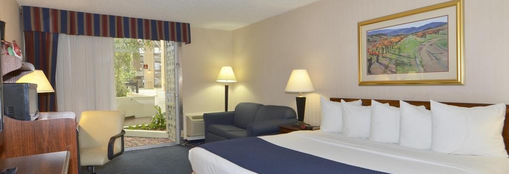 Amarillo Inn & Suites - 阿馬里洛 - 臥室