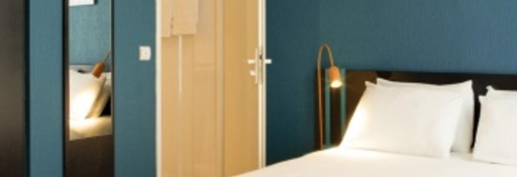 Hôtel Daval - 巴黎 - 臥室