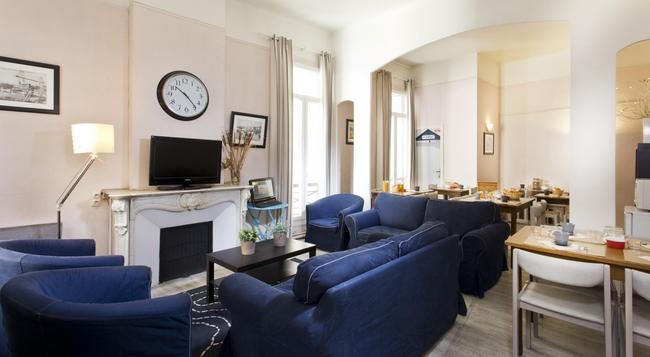 Hotel Sylvabelle - 馬賽 - 大廳