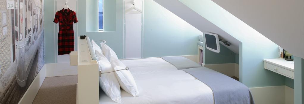 LX Boutique Hotel - 里斯本 - 臥室