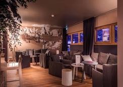 樂大艾格勒酒店及水療中心 - La Salle-les-Alpes - 酒吧