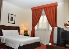 Danat Century Hotel Apartments - 阿布扎比 - 臥室