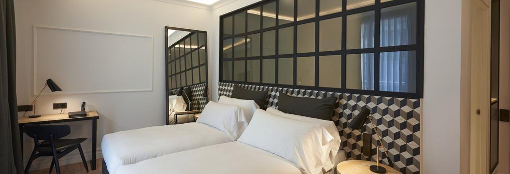 The Serras Hotel Barcelona - 巴塞隆拿 - 臥室