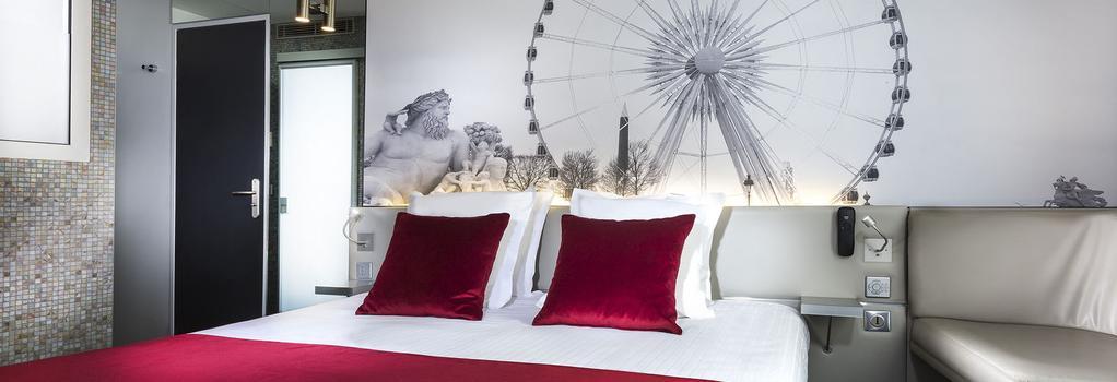 Hotel du Cadran - 巴黎 - 臥室