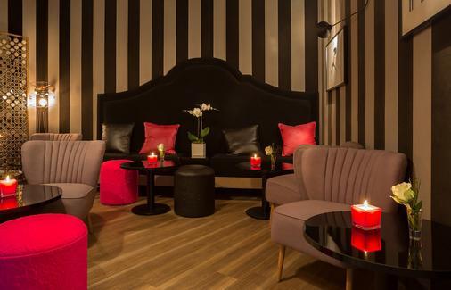 拉帕日茲恩艾勒蓋恩切酒店 - 巴黎 - 客廳