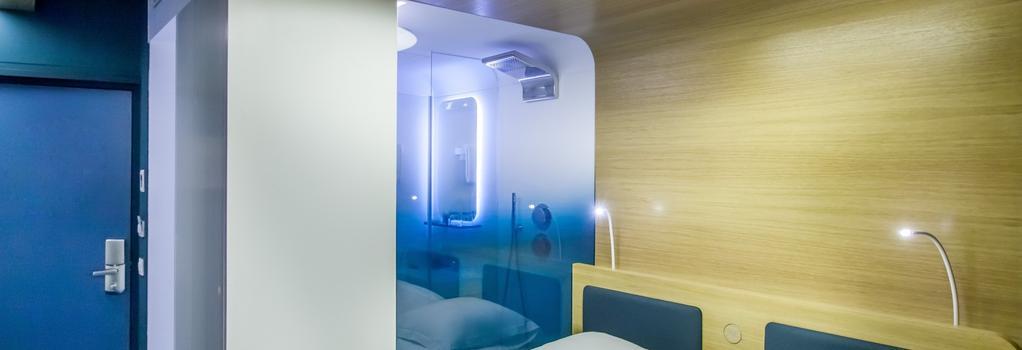 Hotel Odyssey - 巴黎 - 臥室