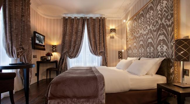 Hotel Ares Eiffel - 巴黎 - 臥室