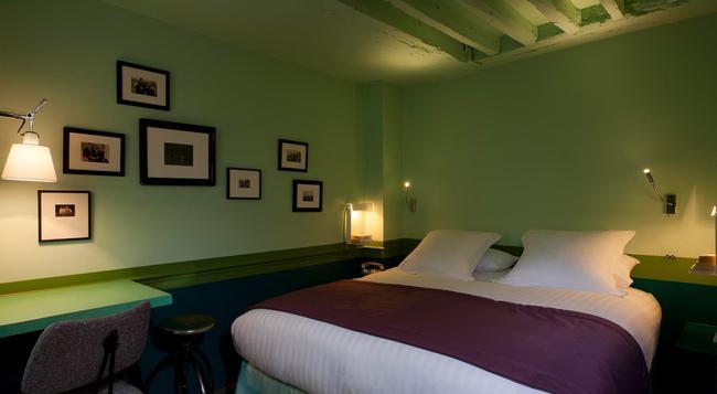 Hotel Crayon - 巴黎 - 臥室