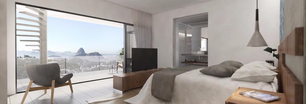Casa Marques Santa Teresa - 里約熱內盧 - 臥室