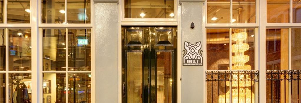 Hotel V Nesplein - 阿姆斯特丹 - 建築