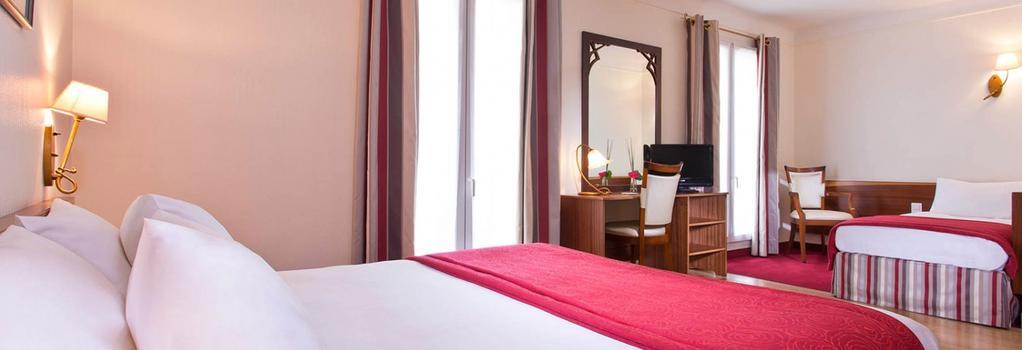 Grand Hotel des Balcons - 巴黎 - 臥室