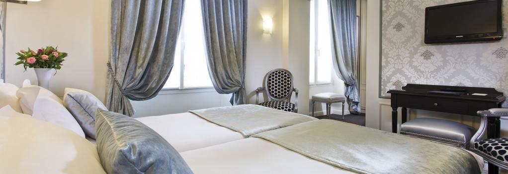Hotel Saint Pétersbourg Opéra - 巴黎 - 臥室