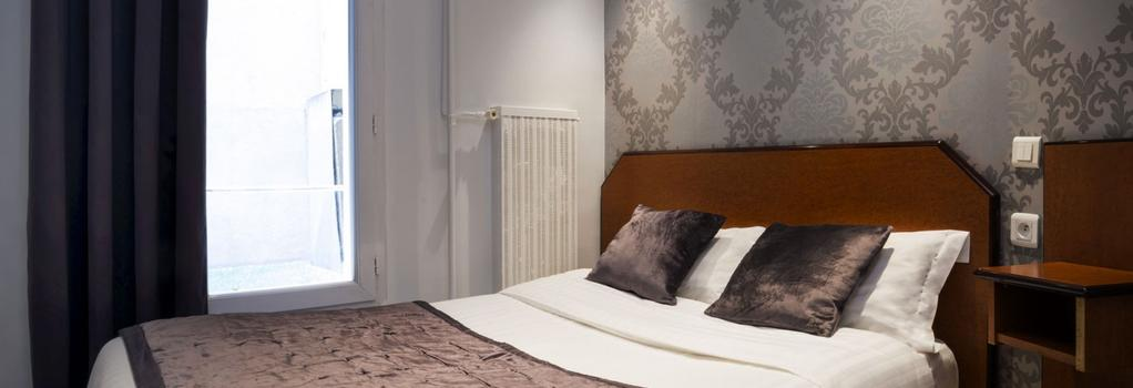 Hotel du Brésil - 巴黎 - 臥室