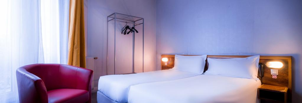 Hotel Moulin Vert - 巴黎 - 臥室