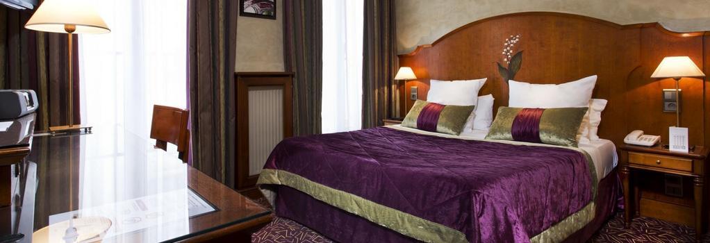 Hotel Muguet - 巴黎 - 臥室