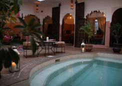 安雅庭院旅館 - 馬拉喀什 - 游泳池