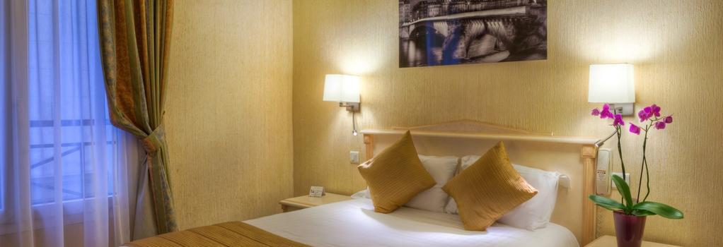 Hotel Louvre Sainte-Anne - 巴黎 - 臥室